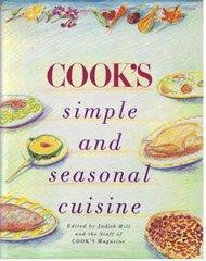 9780671620080: Cook's simple and seasonal cuisine