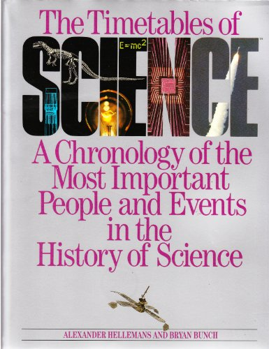 9780671621308: Title: The timetables of science A chronology of the most