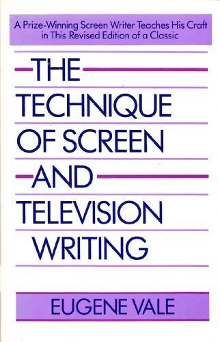 9780671622428: The Technique of Screen and Television Writing (A Touchstone book)