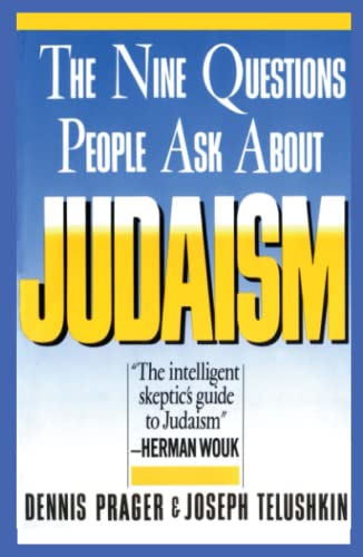 9780671622619: Nine Questions People Ask About Judaism