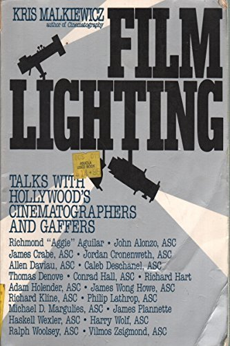 9780671622718: Film Lighting: Hollywood's Leading Cinematographers Talk About Their Work