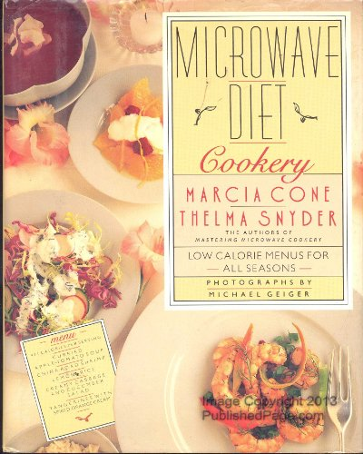 Microwave Diet Cookery: Cone, Marcia; Snyder, Thelma