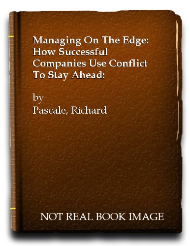 9780671624422: Managing on the Edge: Companies That Use Conflict to Stay Ahead