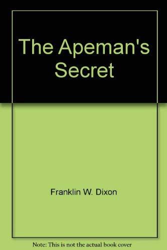 9780671624798: The Apeman's Secret (Hardy Boys #62)