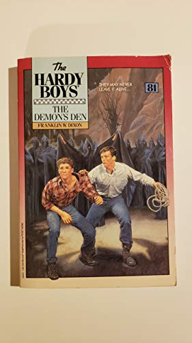 9780671626228: DEMONS DEN HB81 (Hardy Boys Mystery Stories)