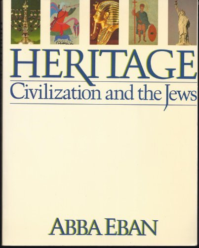 9780671628819: Heritage : Civilization and the Jews