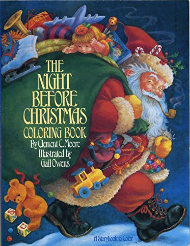 9780671629595: Night Before Christmas Coloring Book, The