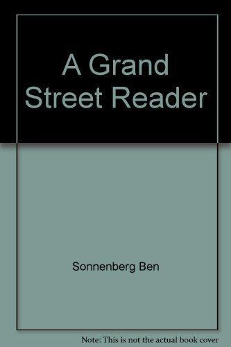 9780671629694: A Grand Street reader