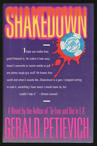 Shakedown: A Novel: Petievich, Gerald