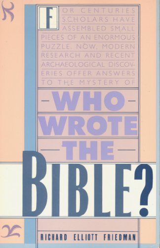 9780671631611: Who Wrote the Bible?