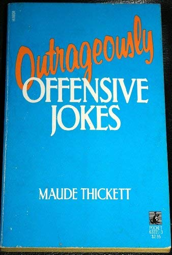 9780671632212: OUTRAGE OFF JOKES