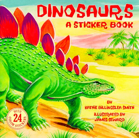 Dinosaurs (24 Collector Stickers): Kathie Billingslea Smith
