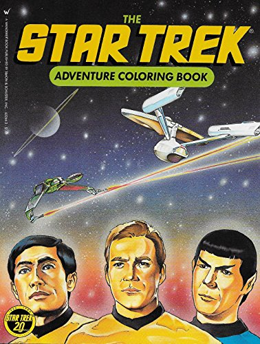 9780671632441: The Star Trek Adventure Coloring Book