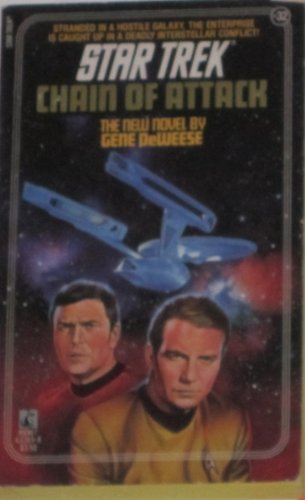 9780671632694: Chain of Attack (Star Trek, Book 32)