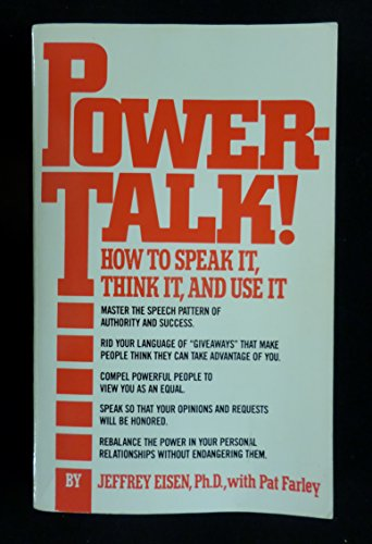 9780671632762: Powertalk!: How to Speak It, Think It, and Use It