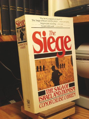 9780671633103: The Siege: The Saga of Israel and Zionism