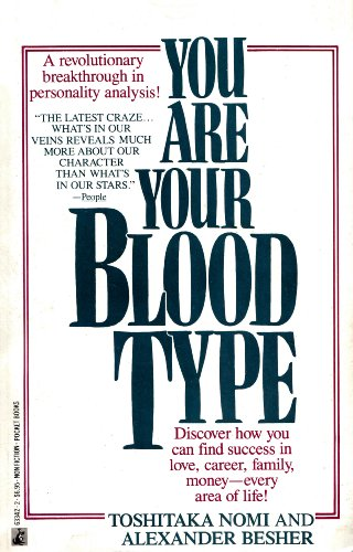 9780671633424: You Are Your Blood Type
