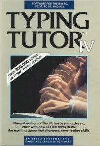 9780671634810: Typing Tutor IV: With Letter Invaders