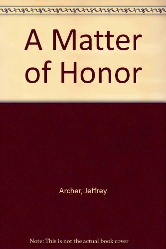 9780671634834: A Matter of Honor