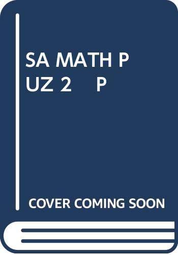 SA Math Puz 2 P (0671636537) by Martin gardner
