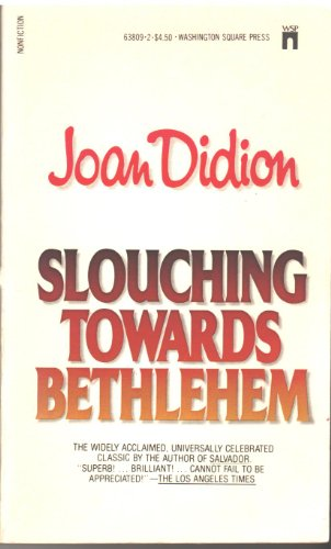 9780671638092: Slouching Towards Bethlehem by Didion, Joan