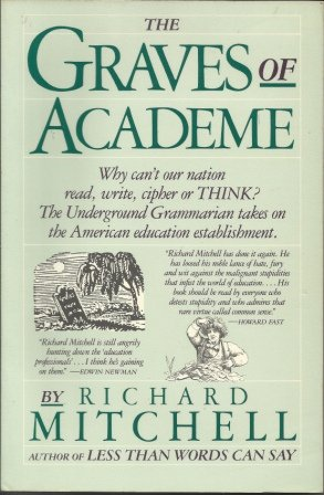 9780671639372: The Graves of Academe