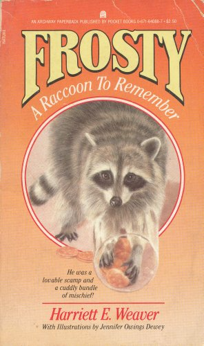 9780671640880: Frosty: A Raccoon to Remember