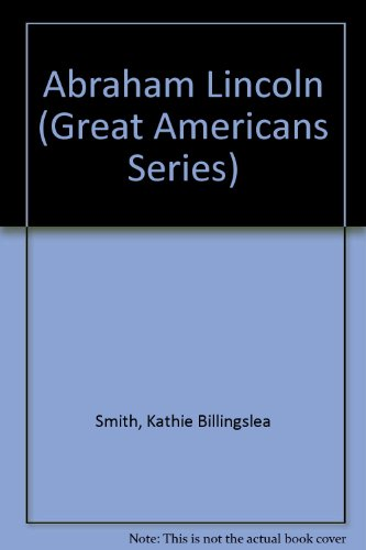 9780671641481: Abraham Lincoln (Great Americans Series)