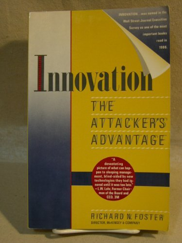 9780671642242: Innovation: The Attacker's Advantage