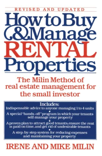 9780671644239: How to Buy and Manage Rental Properties: The Milin Method of Real Estate Management for the Small Investor