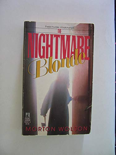9780671645229: Nightmare Blonde