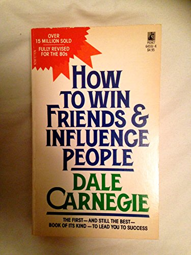 How to Win Friends & Influence People (067164551X) by Dale Carnegie