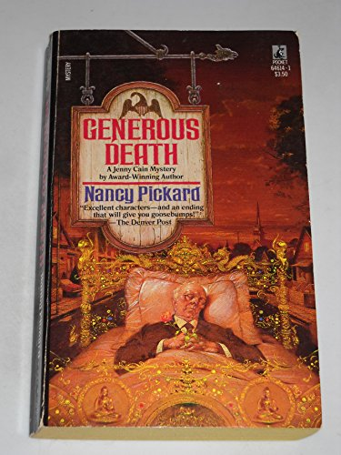 9780671646141: Generous Death (Jenny Cain Mysteries, No. 1)