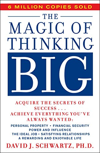 9780671646783: The Magic of Thinking Big (A fireside book)