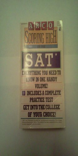 9780671648282: Scoring High on the Sat