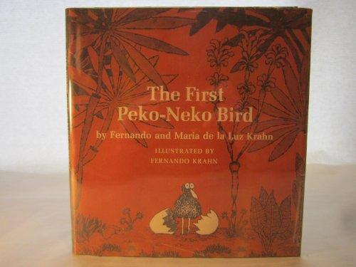The first Peko-Neko bird,: Krahn, Fernando