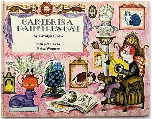 9780671651725: Carter is a Painter's Cat