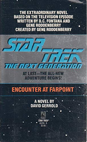 9780671652418: Encounter at Farpoint - Star Trek: The Next Generation
