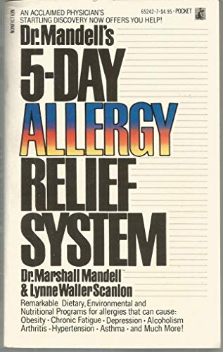 9780671652425: Dr. Mandell's 5-Day Allergy Relief System