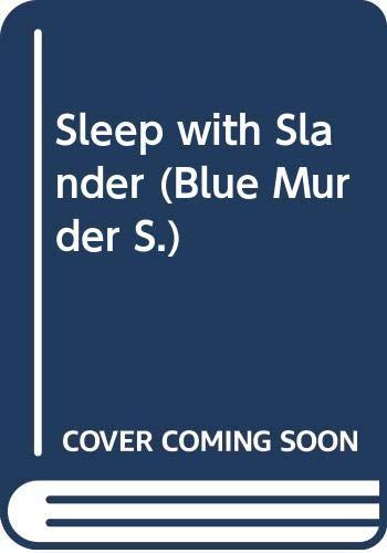 9780671652852: Sleep With Slander (Blue Murder)