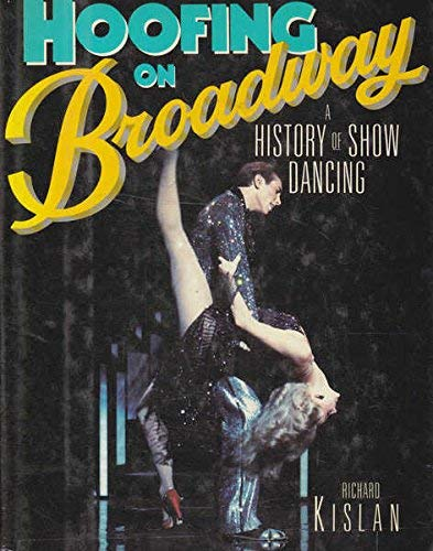 9780671654573: Hoofing on Broadway: History of Show Dancing