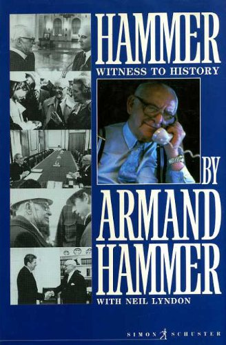 9780671654580: Hammer: Witness to History