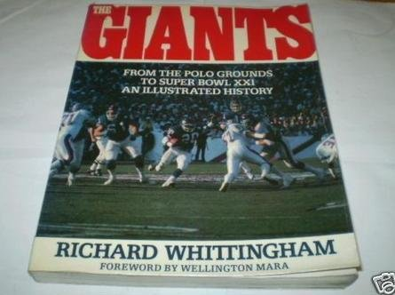 9780671655365: The Giants : An Illustrated History : From the Polo Grounds to Super Bowl XX