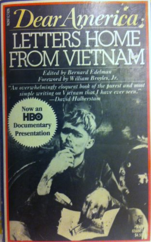 9780671656843: Dear America: Letters Home from Vietnam