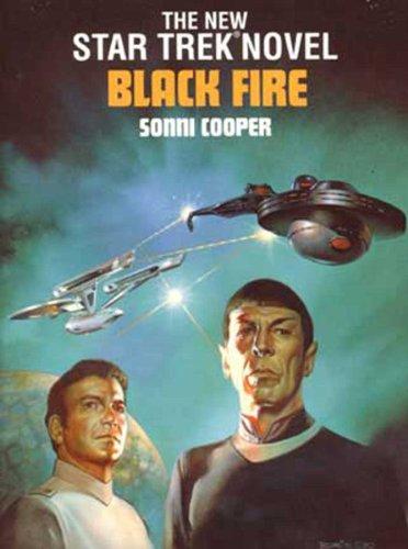 9780671657475: BLACK FIRE STAR TREK 8