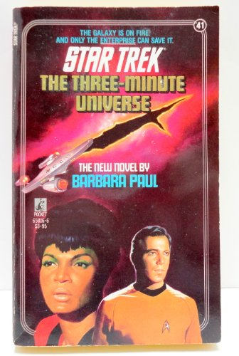 The Three-Minute Universe (Star Trek, No 41)
