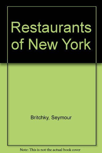 9780671658243: Restaurants of New York