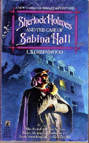 9780671659158: Sherlock Holmes and The Case of Sabina Hall
