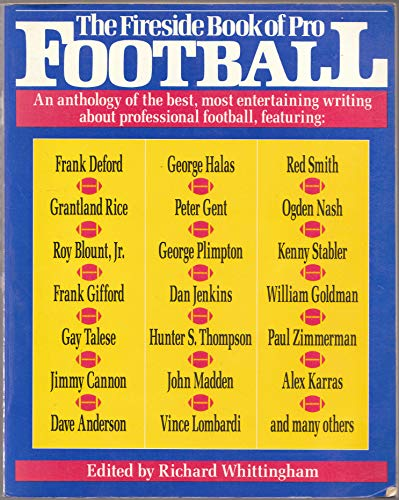 9780671659967: The Fireside Book of Pro Football