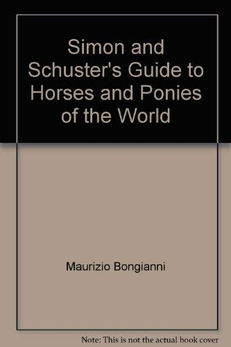 9780671660673: Simon & Schuster Pocket Guide to Horses & Ponies